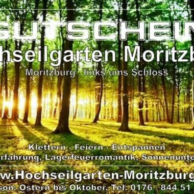 <H1>Gutscheine für den Hochseilgarten Moritzburg</H1>