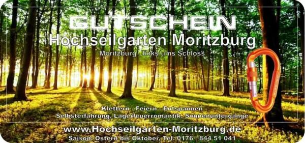 Gutschein Hochseilgarten Moritzburg