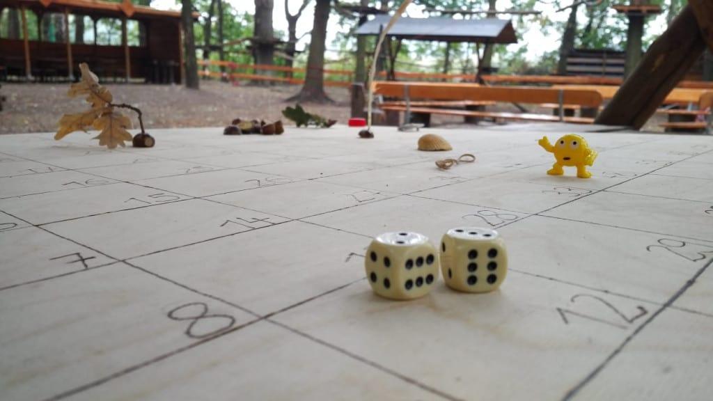 Ein Brettspiel mit Aktivitätscharakter
