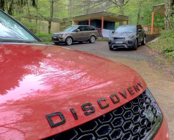 Präsentation Land Rover Discovery