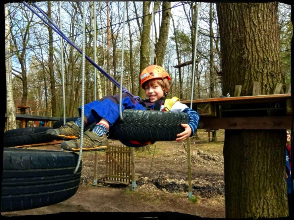 Spaß in Kinderparcours, denn der steht im Vordergrund
