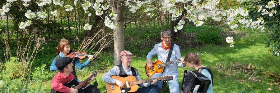 3. Picknickdecken-Konzert: HUDERICH spielt GUNDERMANN am 30.4.2019