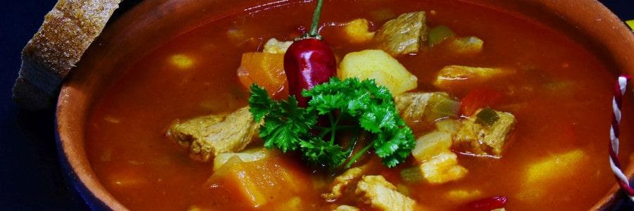 Suppen aus der Kanone