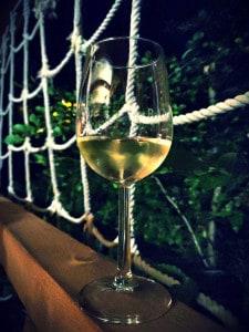 Weinverkostung im Hochseilgarten Moritzburg