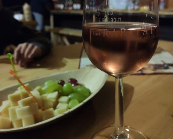 Weinprobe am Mittelteich