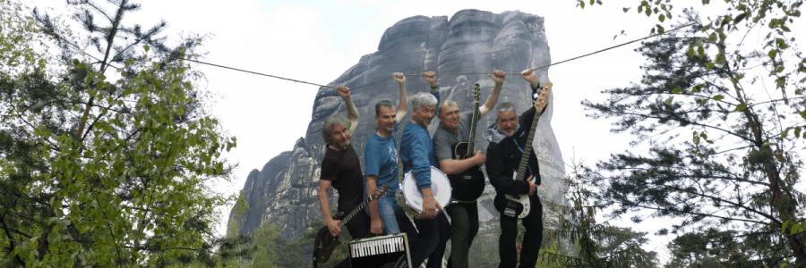 """25.09.2021 Konzert mit Schlappseil: """"Musik – Film – Irrwitz — Kletterkultfreakrock seit 1986"""""""